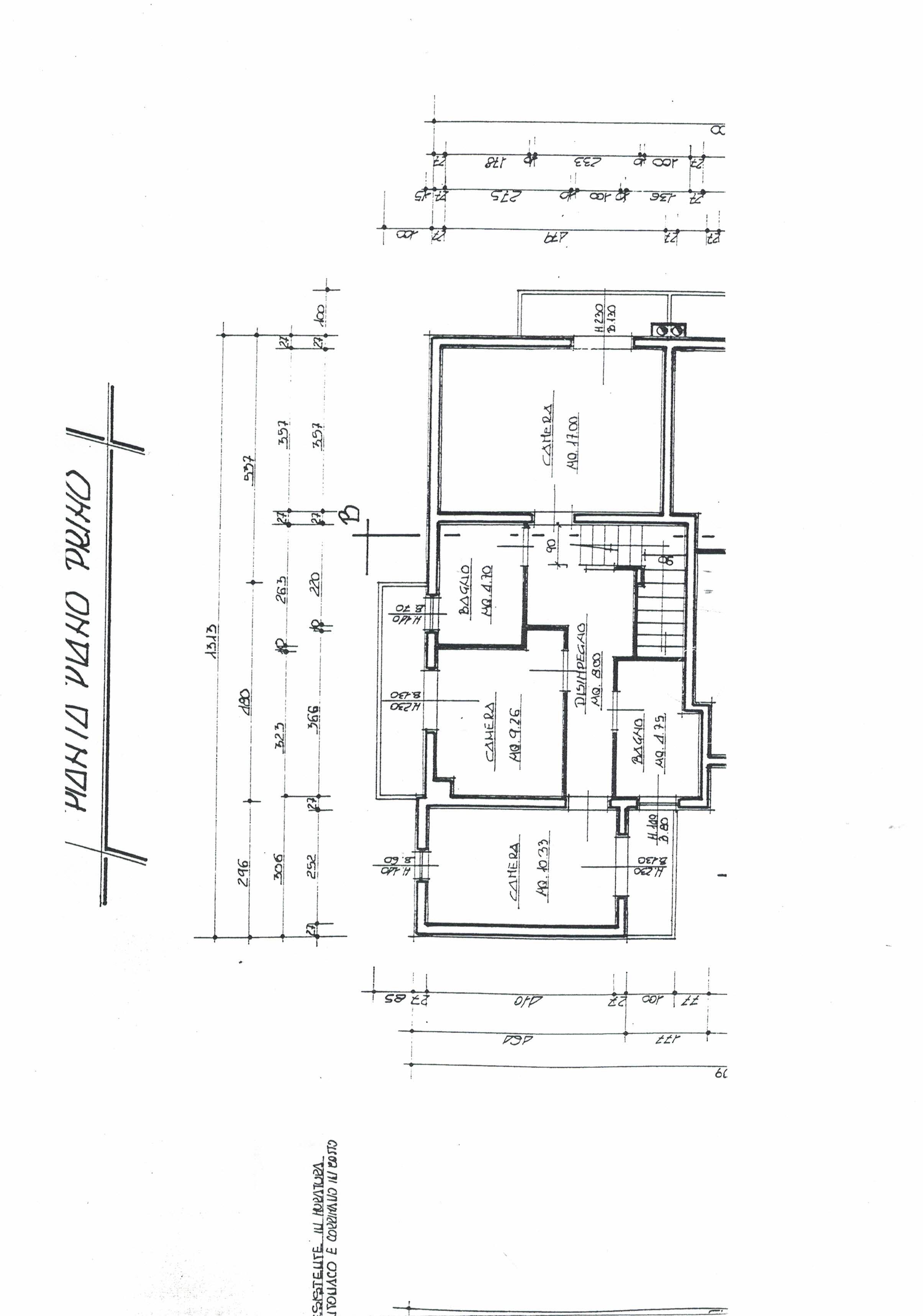 Planimetria 1/2 per rif. 52