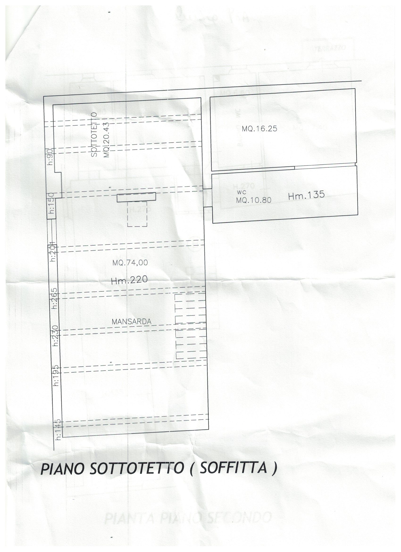 Planimetria 19/2 per rif. S878