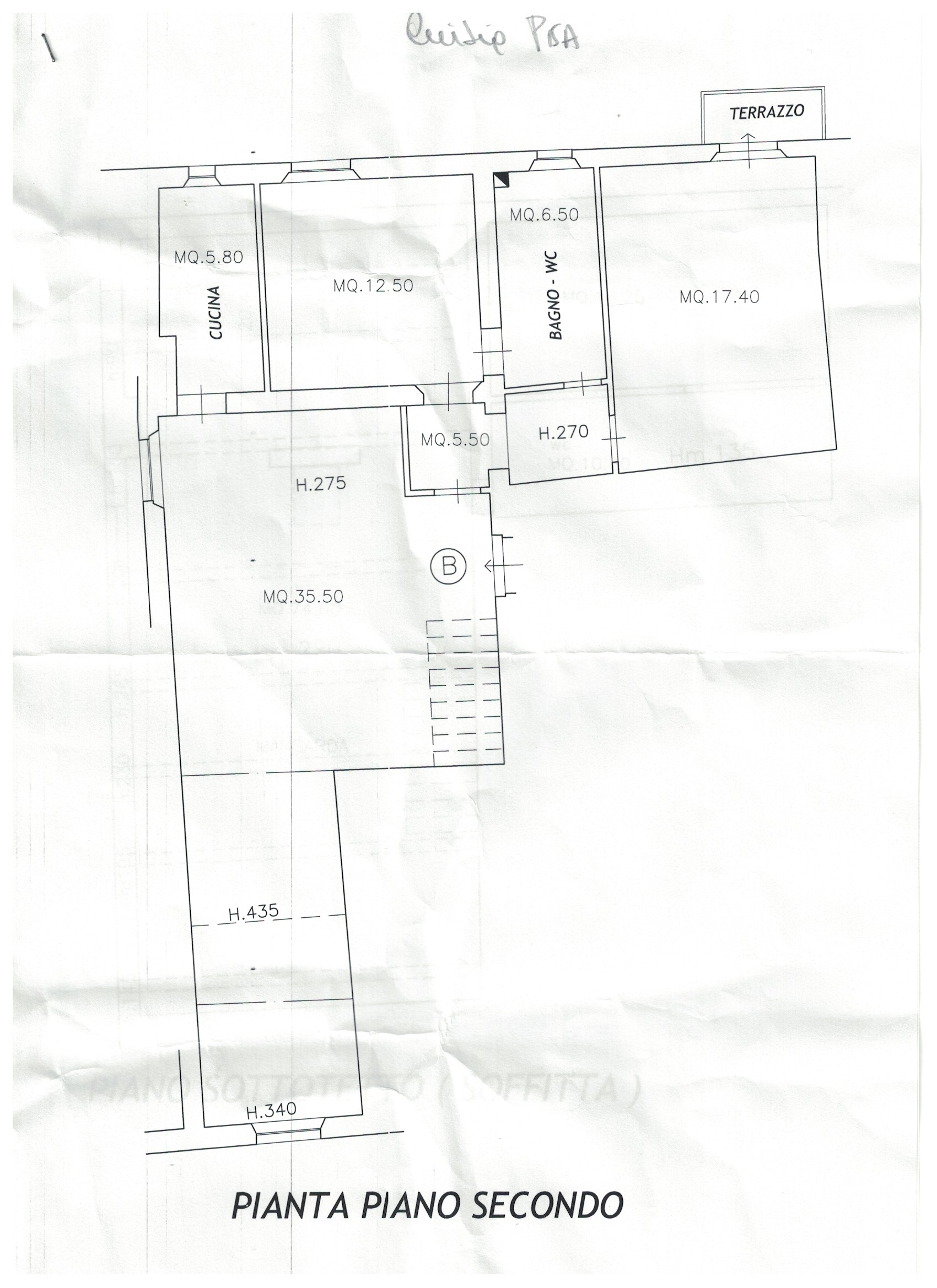 Planimetria 20/2 per rif. S878