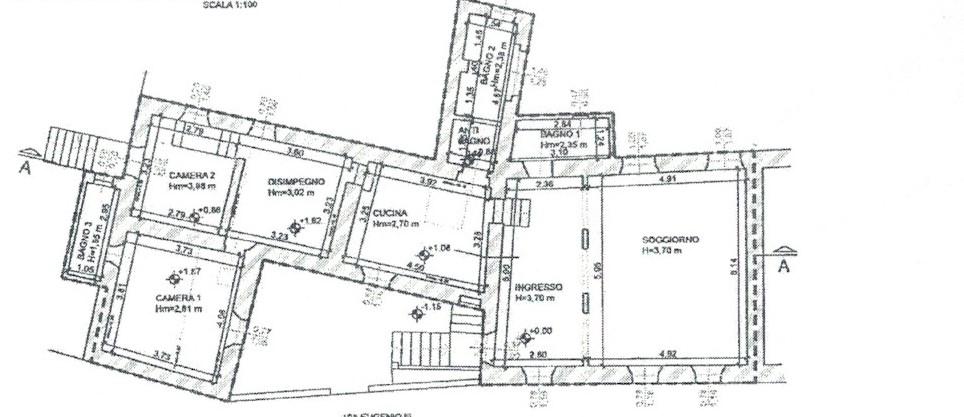 Planimetria 1/1 per rif. 288
