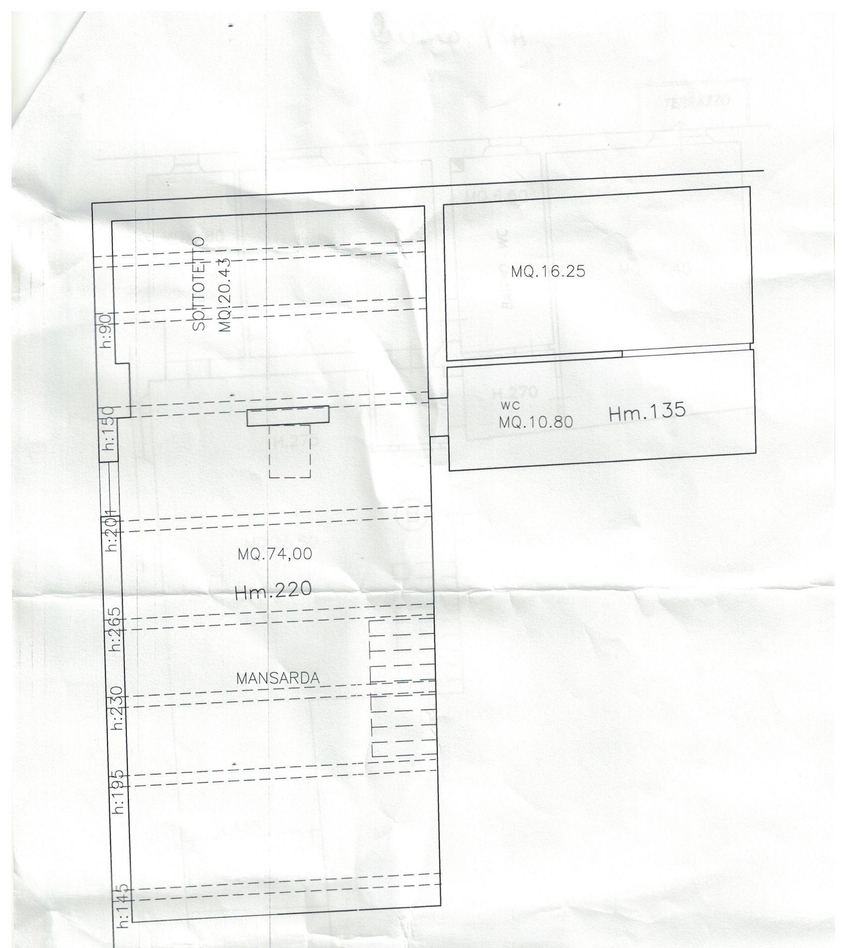 Planimetria 1/2 per rif. 142