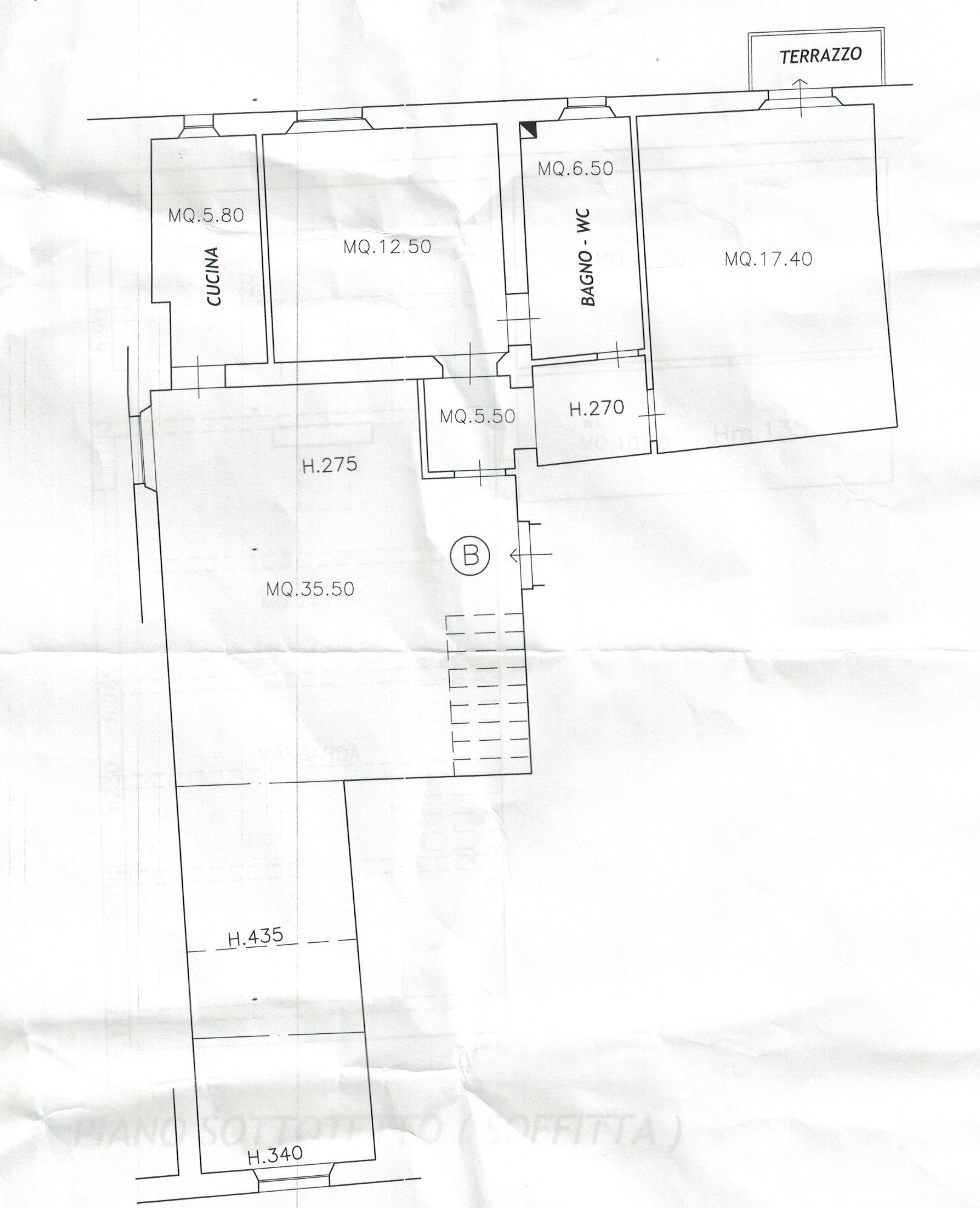 Planimetria 2/2 per rif. 142