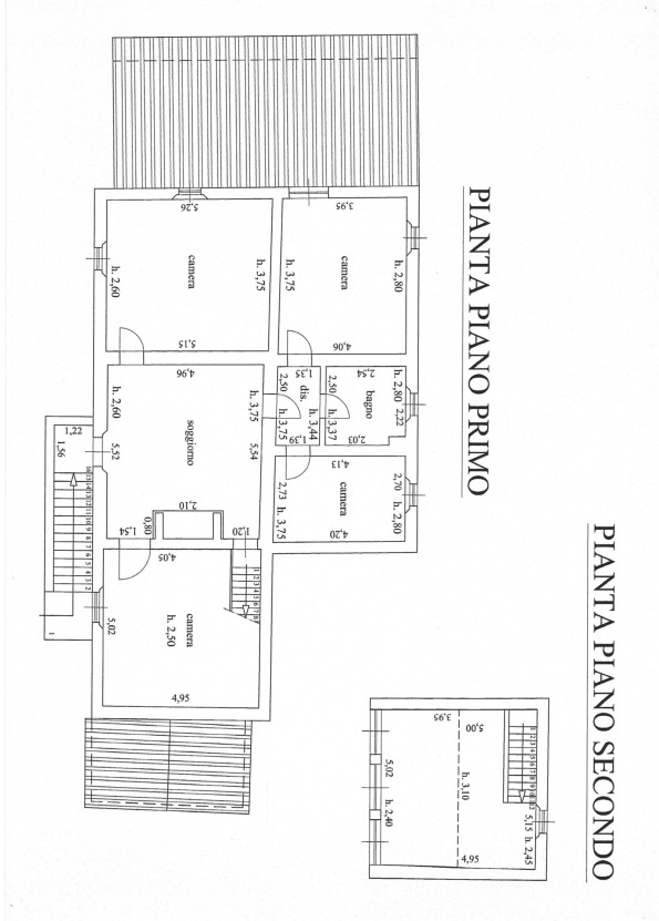 Planimetria 2/2 per rif. 512