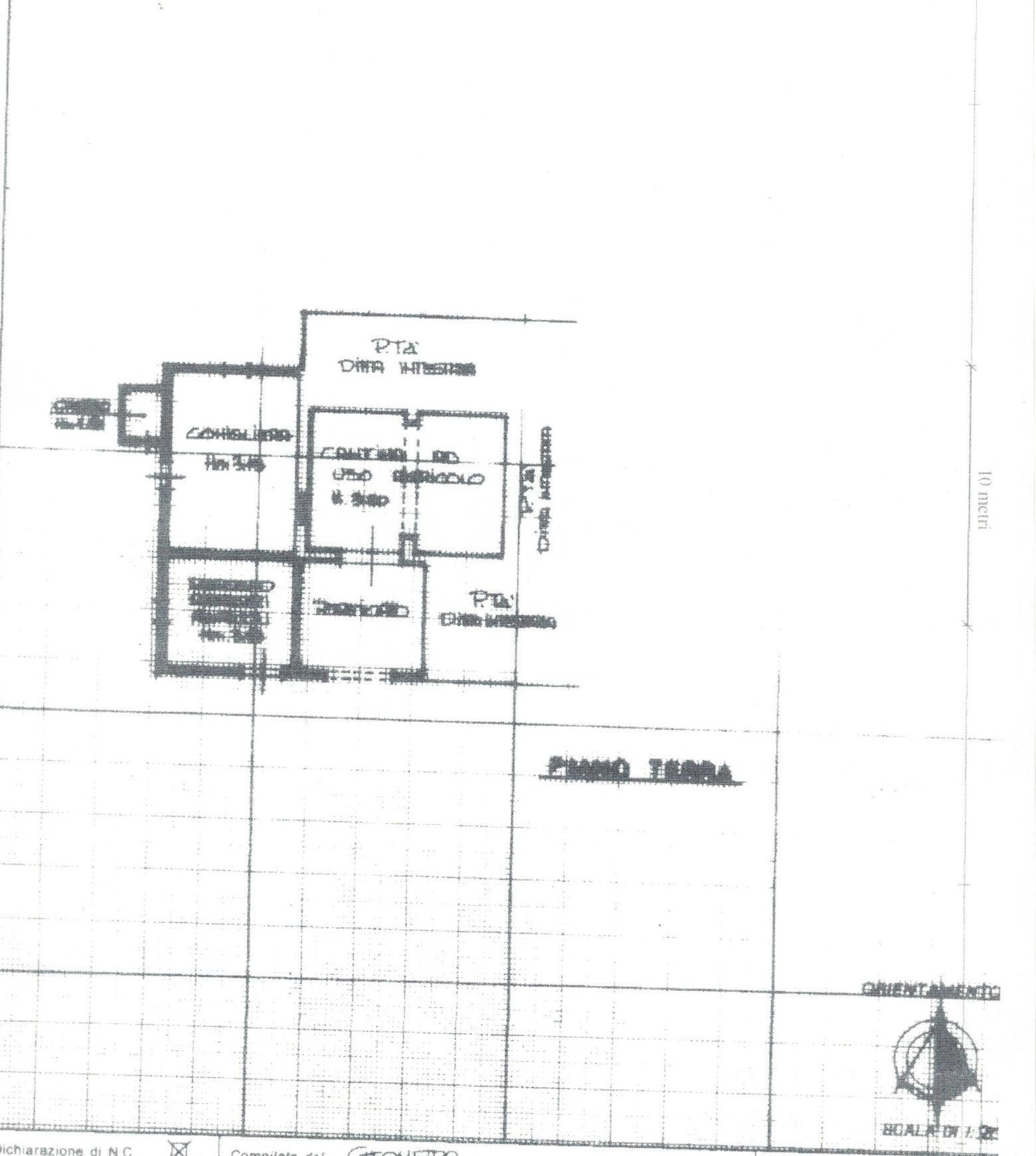 Planimetria 2/6 per rif. 1/P