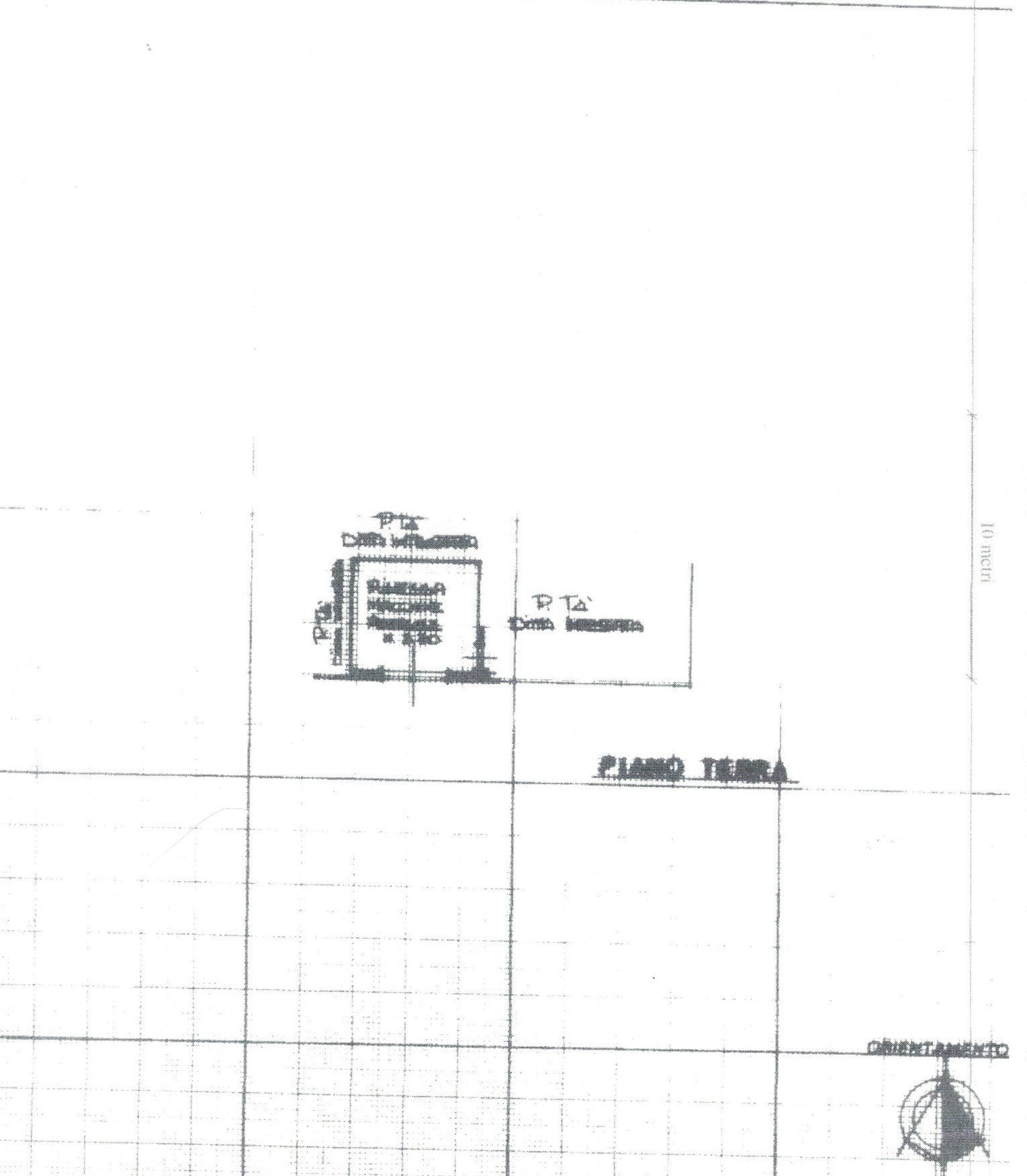 Planimetria 6/6 per rif. 1/P