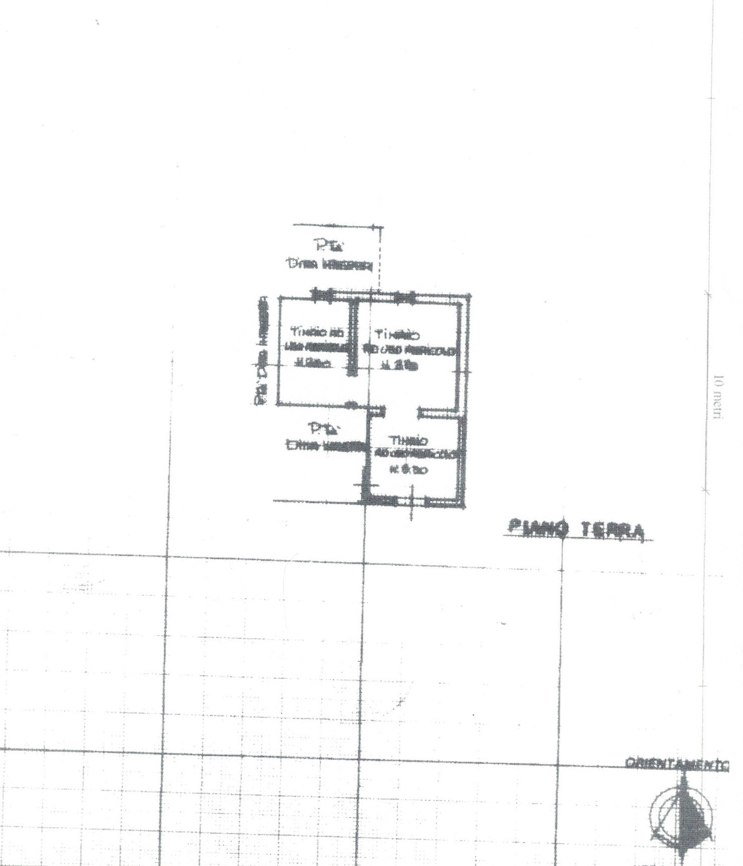 Planimetria 5/6 per rif. 1/P