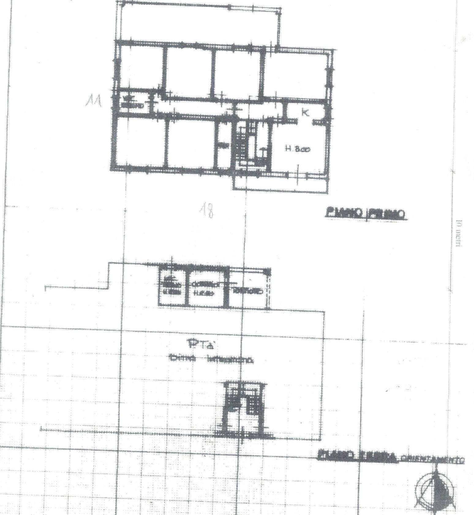 Planimetria 1/6 per rif. 1/P