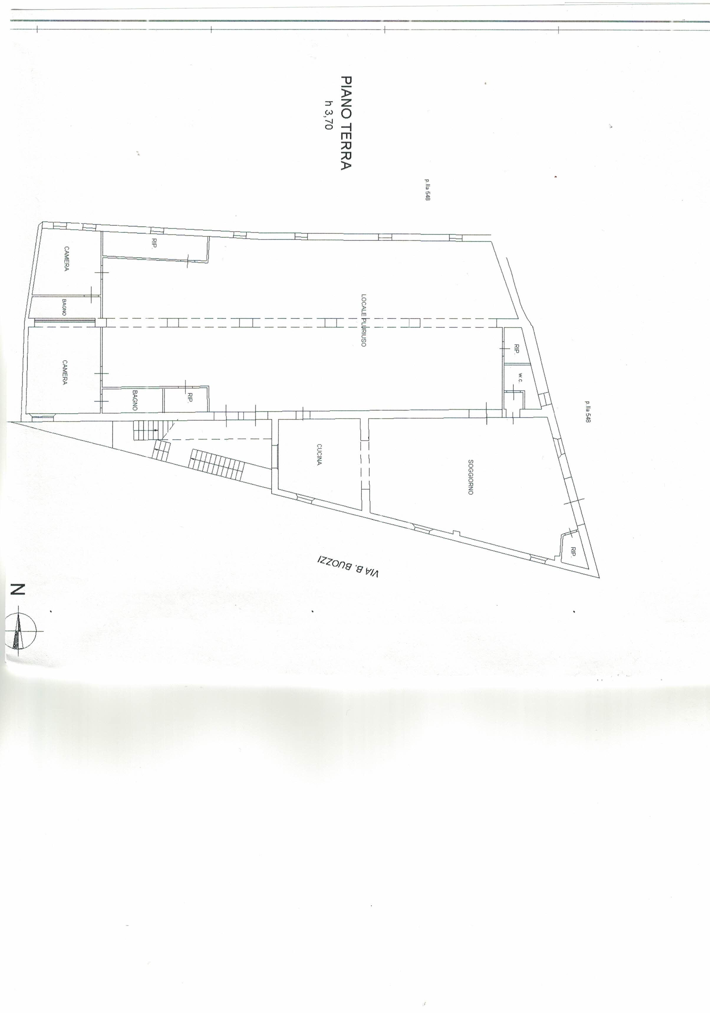 Planimetria 1/2 per rif. 768