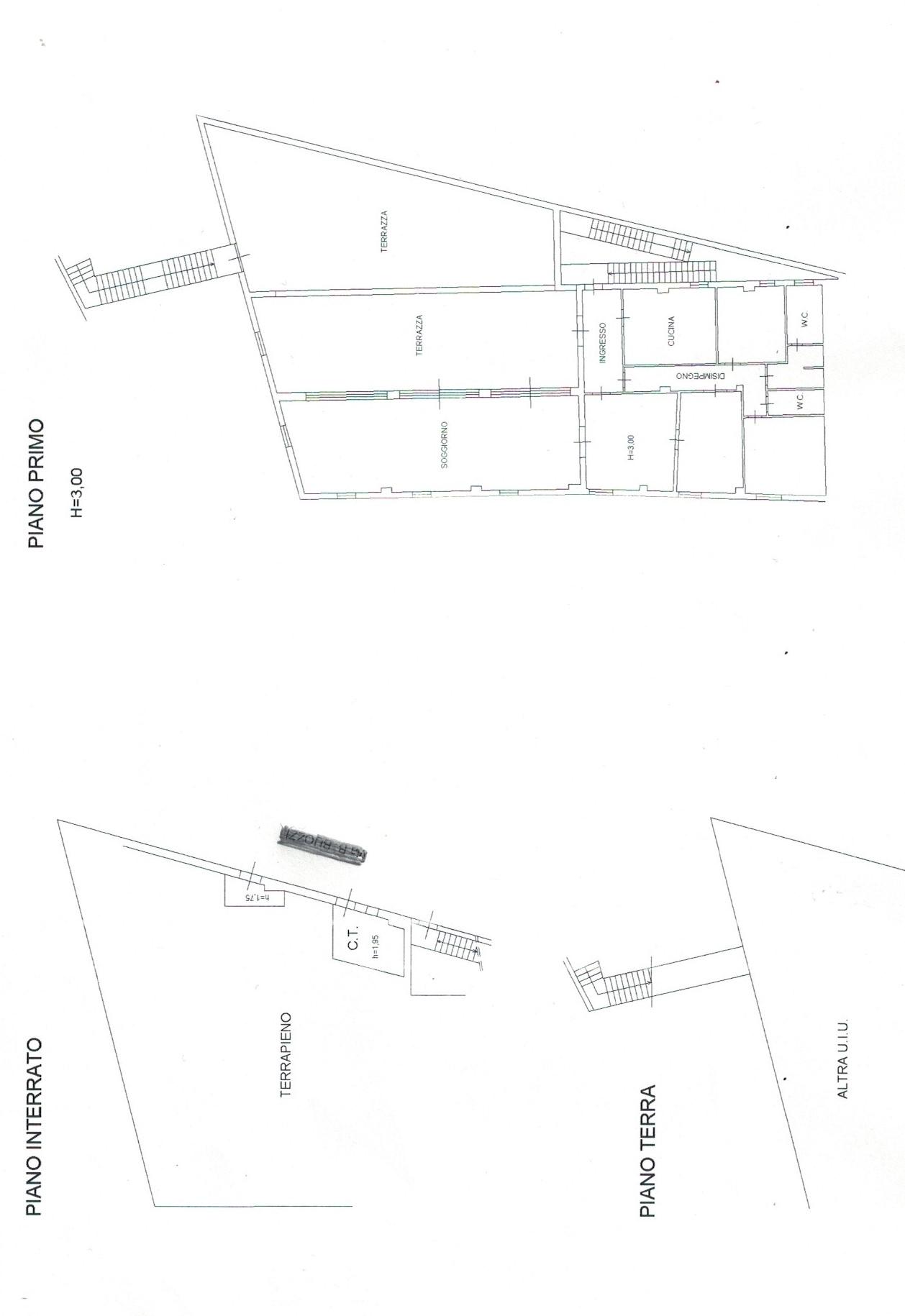Planimetria 2/2 per rif. 768