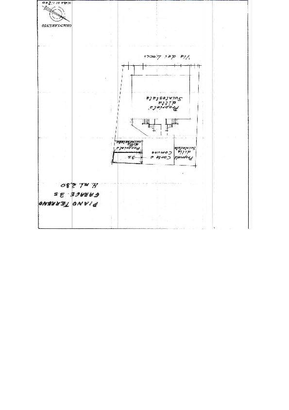 Planimetria 1/2 per rif. 669