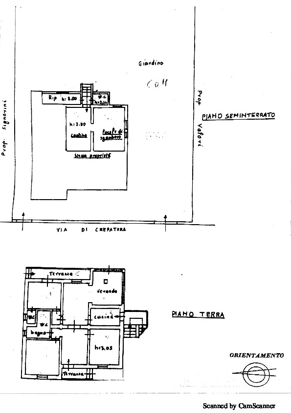 Planimetria 2/2 per rif. 936