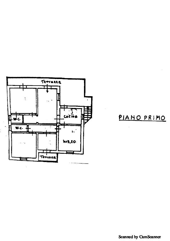 Planimetria 1/2 per rif. 936