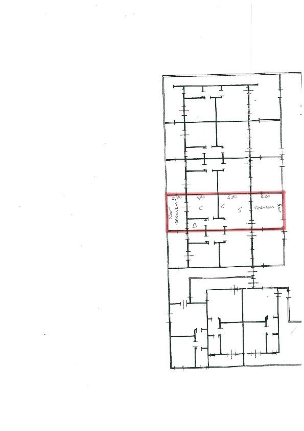 Planimetria 2/2 per rif. C1188