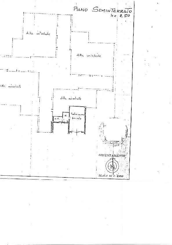 Planimetria 1/1 per rif. 997