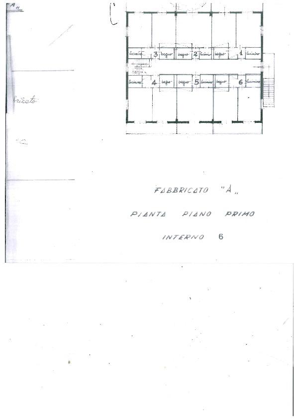 Planimetria 1/1 per rif. 1054