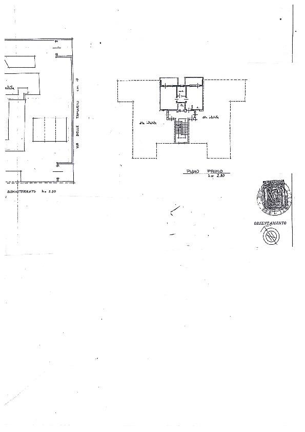 Planimetria 1/1 per rif. 1067