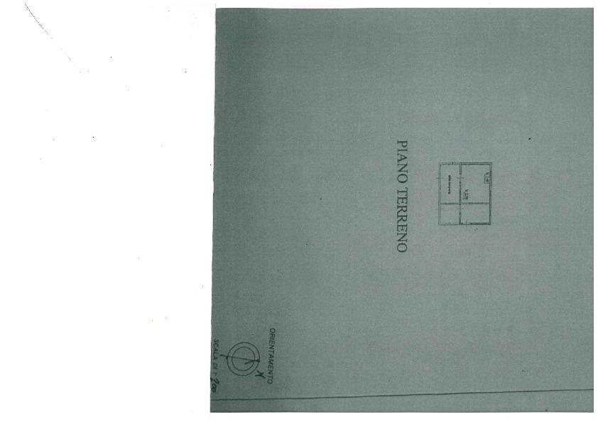 Planimetria 4/5 per rif. 1081