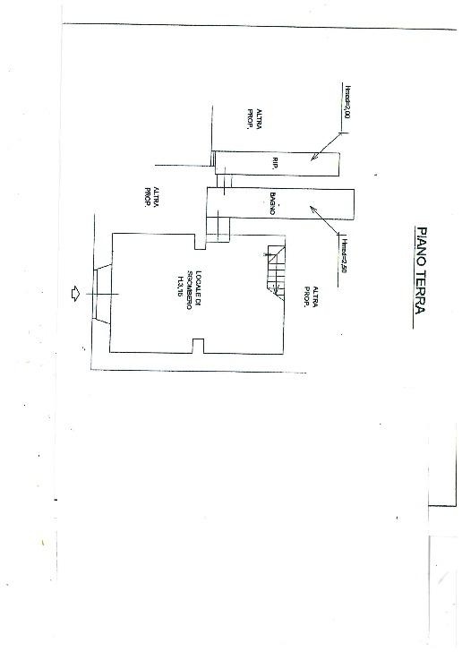 Planimetria 1/2 per rif. 1086