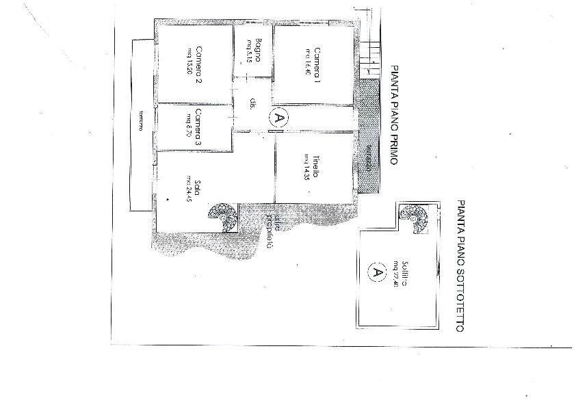 Planimetria 1/1 per rif. 1129