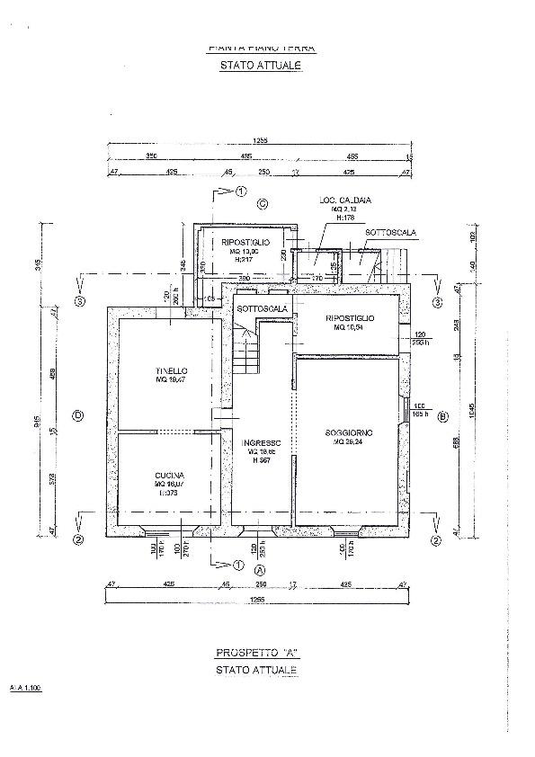 Planimetria 1/1 per rif. 1132