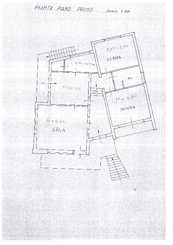 Planimetria 2/2 per rif. 1137