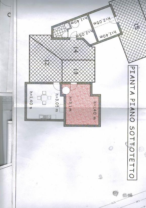 Planimetria 1/2 per rif. 1145