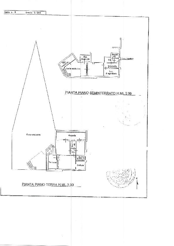 Planimetria 1/1 per rif. 1158