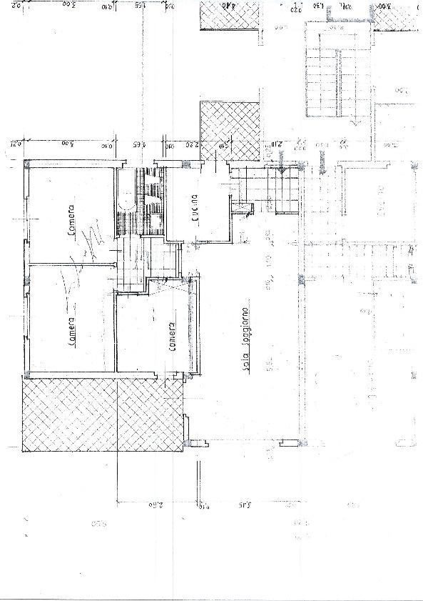 Planimetria 1/2 per rif. 1172