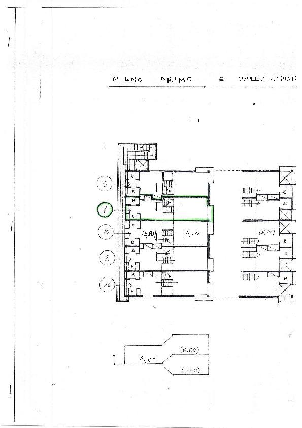 Planimetria 1/1 per rif. 1193