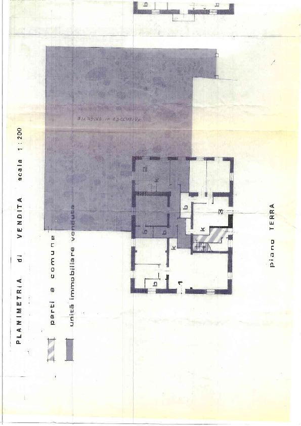 Planimetria 1/1 per rif. 1208