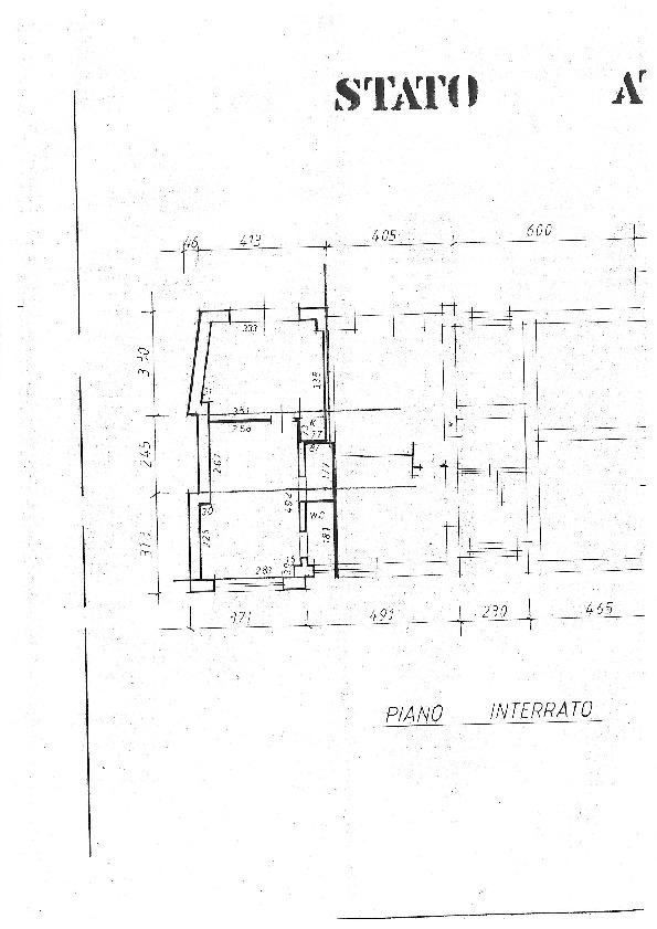 Planimetria 1/1 per rif. 1211