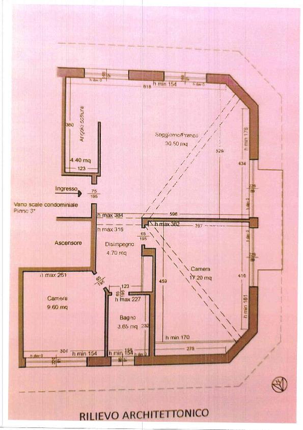Planimetria 1/1 per rif. C1189