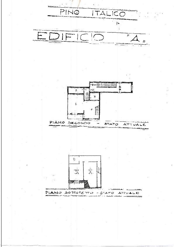 Planimetria 1/1 per rif. 1218