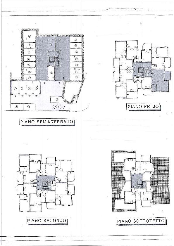 Planimetria 1/1 per rif. C1225