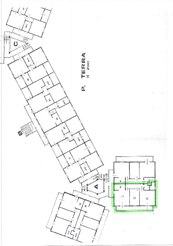 Planimetria 1/1 per rif. 1236