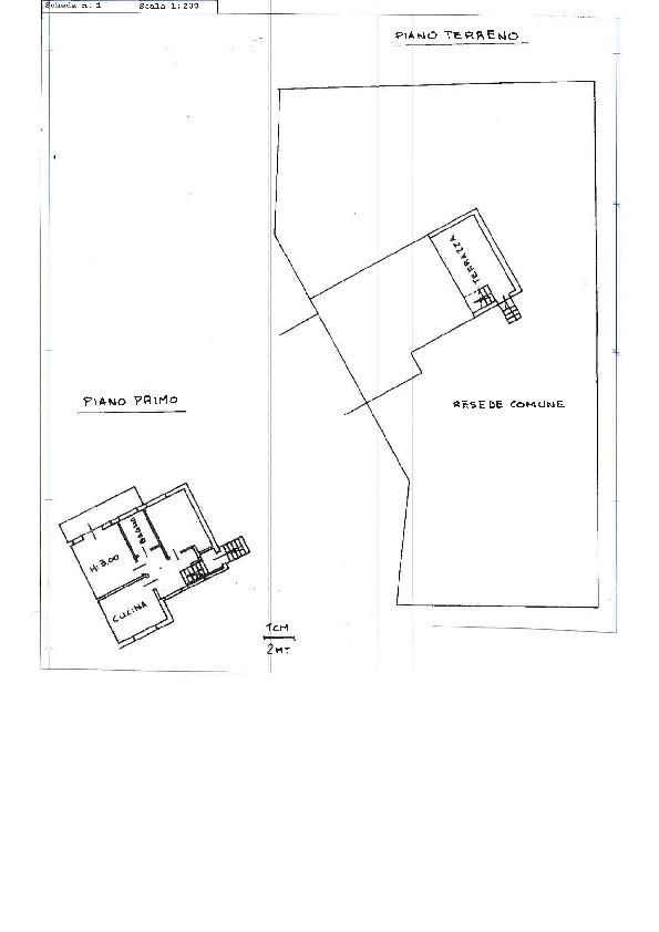 Planimetria 1/1 per rif. C1286