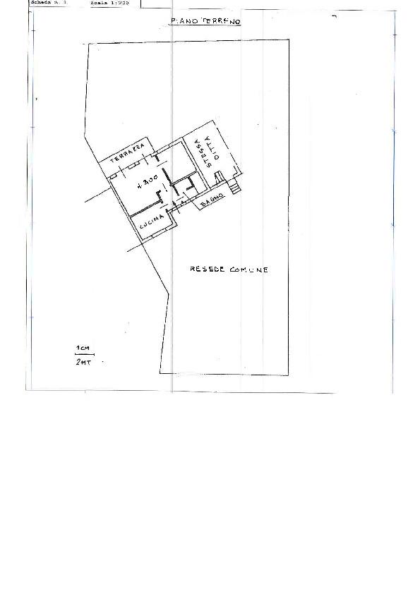 Planimetria 1/1 per rif. C1288