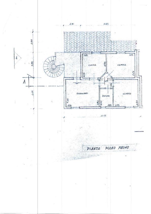 Planimetria 1/1 per rif. D1316