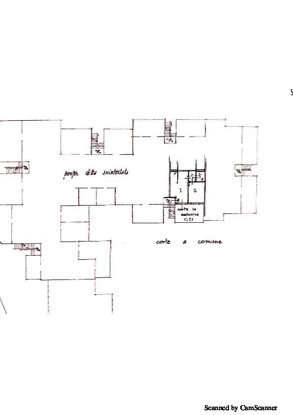 Planimetria 1/1 per rif. 1317