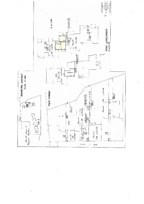 Planimetria 1/1 per rif. D1319