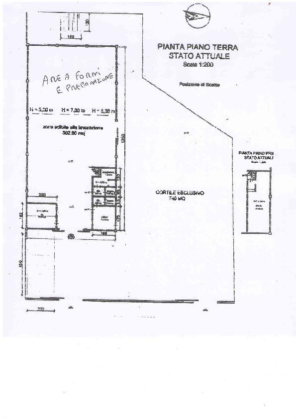 Planimetria 1/1 per rif. D1336