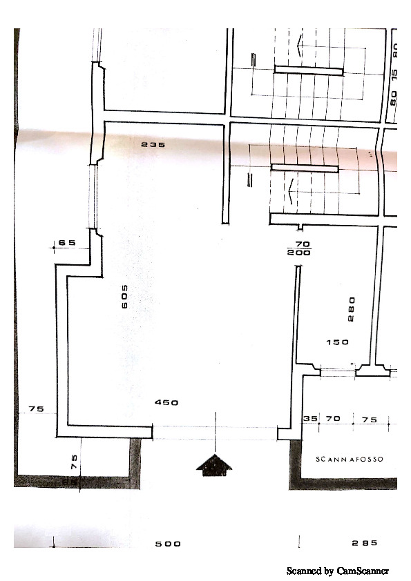 Planimetria 1/3 per rif. 1350