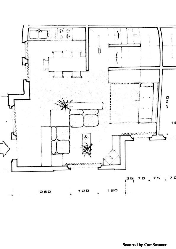 Planimetria 2/3 per rif. 1350