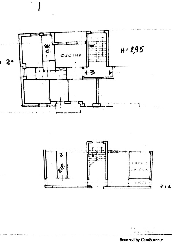 Planimetria 1/1 per rif. 1351