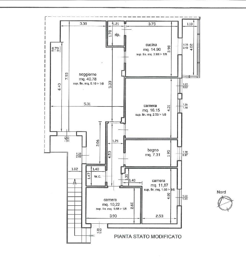 Planimetria 1/1 per rif. AC6051