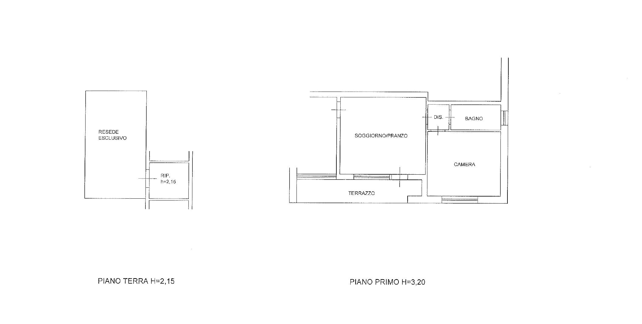 Planimetria 1/1 per rif. AC6631