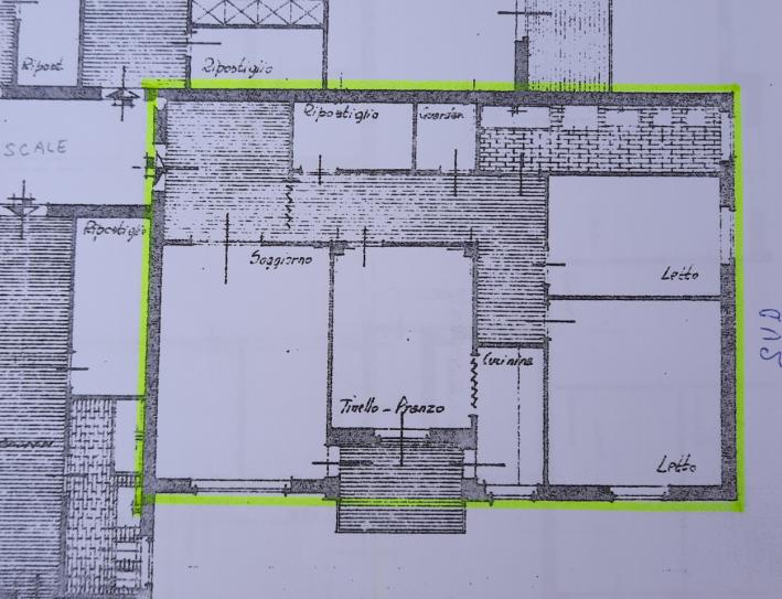 Planimetria 1/2 per rif. M1161