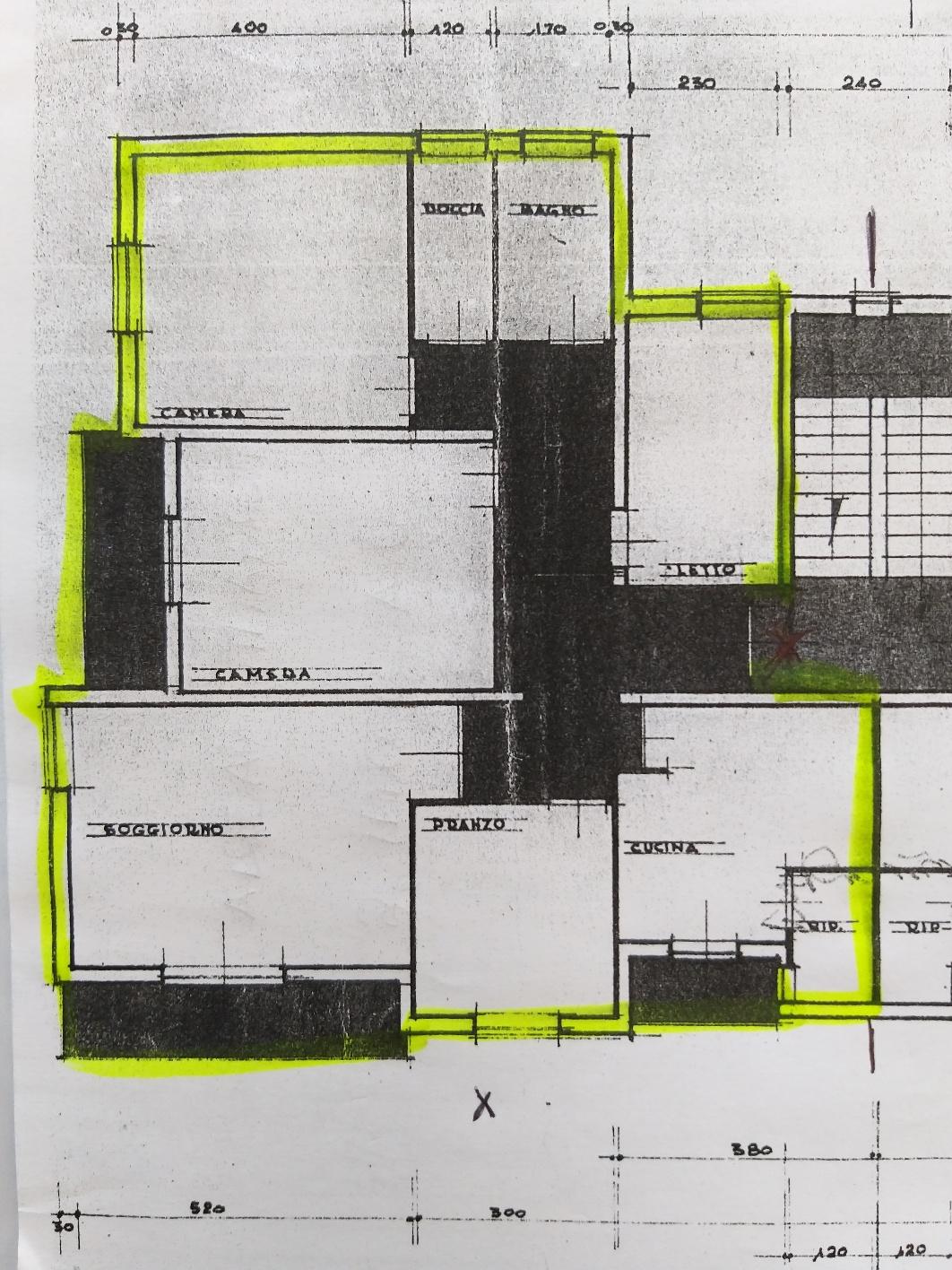 Planimetria 1/1 per rif. M1447
