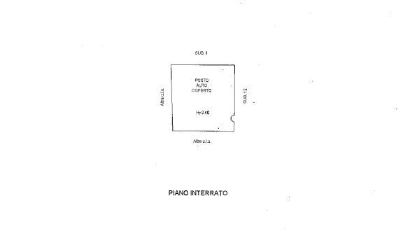 Planimetria 2/2 per rif. M1501