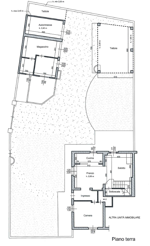 Planimetria 2/5 per rif. M1520